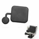 BZ118 Protective Silicone Lens Cover for GoPro Hero 3+ - Black