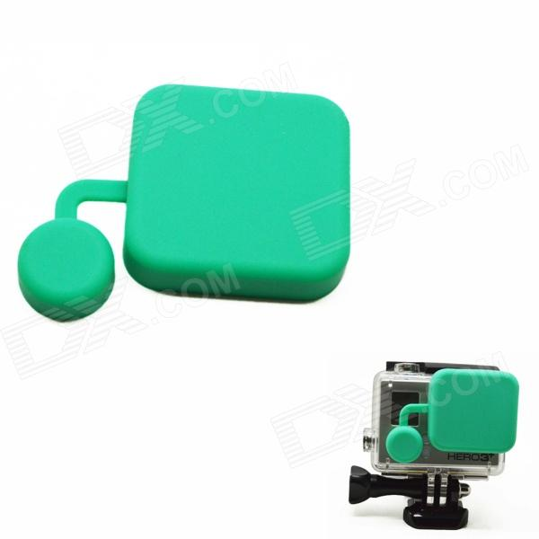 BZ118 Protective Silicone Lens Cover for GoPro Hero 3+ - Grass Green asus zenwatch 3 wi503q silicon