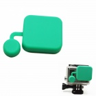 BZ118 Protective Silicone Lens Cover for GoPro Hero 3+ - Grass Green