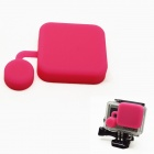 BZ118 Protective Silicone Lens Cover for GoPro Hero 3+ - Deep Pink