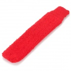 Sweat-absorbing Combed Cotton Sweatband Badminton Cover Grip Wrap - Red