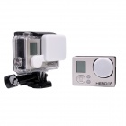 Fat Cat A-LC3+ Professional Protective Lens Cap Set for Gopro Hero 4/ 3+ / Hero3 Plus - White