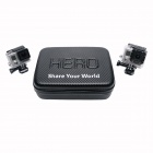 "Fat Cat 9"" Waterproof Thick Anti-Shock Case para GoPro - Carbon Black"