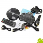 Jesurun S82 Quad-Core Android 4.4 Google TV Player w / 2 Go de RAM, 8 Go de ROM, mini clavier, XBMC, Netflix