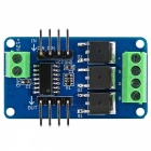 Full-color RGB LED Strip Driver Module for Arduino - Blue + Black