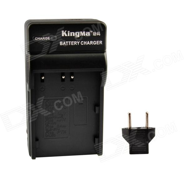 Kingma Battery Charger Kit for Nikon EN-EL3, EN-EL3E / FUJI NP-150 / Olympus BLM1- Black (EU Plug) car ac digital camera travel battery charger for nikon en el15 black