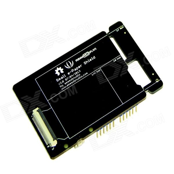 Seeedstudio Small e-paper Shield Support Different e-paper Sizes Driver Board - Black