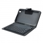 V3.0 Bluetooth Keyboard 77-Key w / Open Flip Case para 8,4'' Samsung Galaxy Tab Pro T320 - Preto