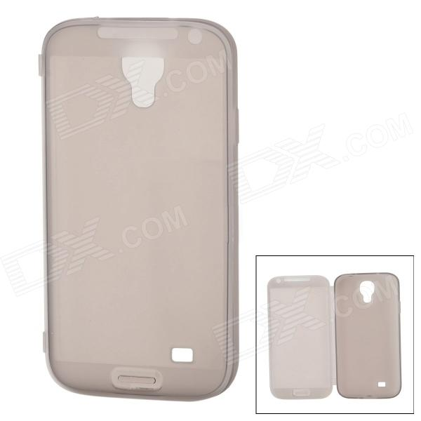 HS-S4BK Lightweight TPU Protective TPU Back Case for Samsung Galaxy S4 i9500 - Translucent Grey гарнитура a4tech hs 7p