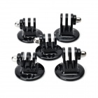 Tripod Mount Adapter for GoPro Camera - Black (5 PCS)