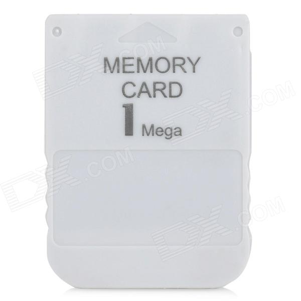 1MB Memory Card for PS1 - Grey