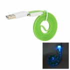 Micro USB 9-Pin to USB 3.0 Charging/Data Cable for Samsung Galaxy S5 - Green (98cm)