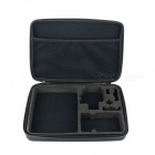 "Fat Cat 13"" One-Cam Anti-choque EVA Case para GoPro - Preto + Branco"