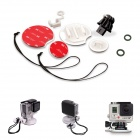 Fat Cat 10-in-1 SurfBoard 3M VHB Adhesive Mount/Safety Kit/FCS Mount for GoPro Hero3+/3/2/1/SJ4000