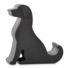 Dog Style Silicone Desktop Holder Stand for IPHONE / Samsung / HTC / Sony - Black