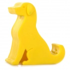 360° Rotary Silicone Cute Dog Shaped Mobile Phone Desktop Stand Holder for Samsung / HTC / Sony