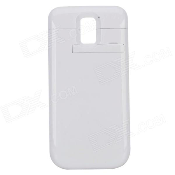 3500mAh External Battery Power Case w/ Stand for Samsung Galaxy S5 - White кардиган selected femme selected femme se781ewuxz28