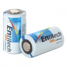 Entitech CR2 3V Li-ion Battery - White + Black + Multi-Colored (2 PCS)