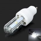 GU10 2U 3W 180LM 4-5730 SMD LED Cool White Light Lamp (AC 85~265V)