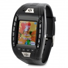 "AK11 GSM Wrist Watch Phone w/ 1.33"" Touch Screen / TF / Bluetooth / FM Radio - Black"