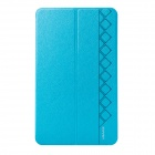 USAMS GNP84XK02 PU + PC Smart Case w/ Stand for Samsung Galaxy Tab Pro 8.4 - Light Blue