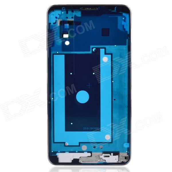 Repair Part Replacement Front Plate for Samsung Galaxy Note 3 - Silver