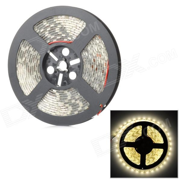 Water Resistant 72W 3000lm 3500K 300-SMD 5050 LED Warm White Light Strip (DC 12V / 5m)