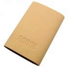 COOMAX C8 9800mAh USB Mobile Power Source Banque pour IPHONE / Samsung + plus - jaune