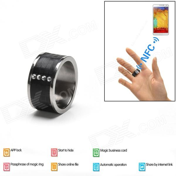 Intelligent Magic Ring with NFC for Smart Phone - Black (Size 10) new methods of source reconstruction for magnetoencephalography