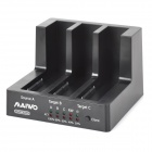 "MAIWO K3093U3S 2.5"" / 3.5"" SATA USB 3.0 High-speed Cloning Copy Mobile Hard Disk Seat Dock - Black"