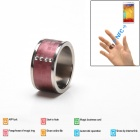 Intelligent Magic Ring Smart NFC Ring for Smart Phone - Red (Size 10)