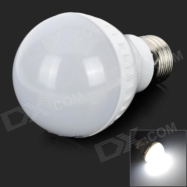 ZDM E27 3W 250LM 8500K Cool White 16-2835 SMD LED Lamp Bulb - White + Silver (AC 220~240V) compact wml weapon mounted white light for glock auto pistol 200 lumens tactical hunting apl c