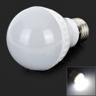 ZDM E27 3W 250LM 8500K Cool White 16-2835 SMD LED Lamp Bulb - White + Silver (AC 220~240V)