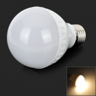 ZDM E27 5W 350LM 3500K  Warm White 21-2835 SMD LED Lamp Bulb - White + Silver (AC 220~240V)