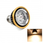 E27 5W 450lm 3000K 6-SMD 5050 LED Warm White Light Golden Edge LED Spot Bulb (AC 85-265V)