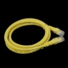 RJ-45 Male to Male Round Network Cable - Yellow (1.5m)