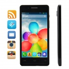 "Simtelep H3 Quad-Core WCDMA Android 4.2.2 Bar Phone w/ 4.5"" HD IPS, 512BM RAM, 4GB ROM - Black"