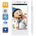 "KICCY P6 Dual-Core Android 4.2 WCDMA Bar Phone w/ 4.5 "" IPS, Wi-Fi, FM, Dual-SIM, GPS - White"