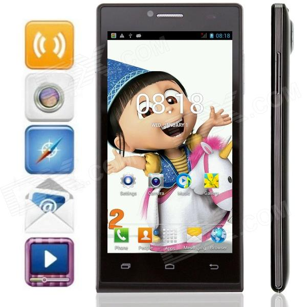 все цены на KICCY P6 Dual-Core Android 4.2 WCDMA Bar Phone w/ 4.5
