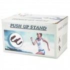 S 01-tipo Push Up stand bar Muscle Building Home Fitness Attrezzature - nero + blu