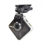 "Sunty A730 1.5"" TFT 3.0 MP Car Camera DVR Recorder w/ GPS Logger / G-Sensor / WDR - Black"