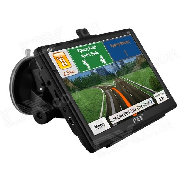 eDaoZhun HD 7 Windows CE 6.0 IGO GPS Navigation free map 256MB DDR3 / 8GB RAM - Black xm 05 7 0 resistive screen win ce 6 0 gps navigator w europe map tf built in 4gb flash memory