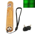 Marsing 303 5mW 532nm Starry Sky Green Laser Pointer Flashlight - Golden (1 x 18650)