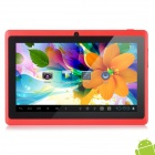 "Levy DaL  7"" Capacitive Touch Screen Android 4.1 Tablet PC w/ 512MB RAM, 8GB ROM - Red"