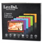 "Levy DaL 7 ""tactile capacitif écran 4.1 Android Tablet PC w / 512 Mo de RAM, 8 GB ROM - rouge"