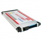 WBTUO BC618 5Gbps Notebook Express USB 3.0 34MM NEC Slim Express Card - Silver