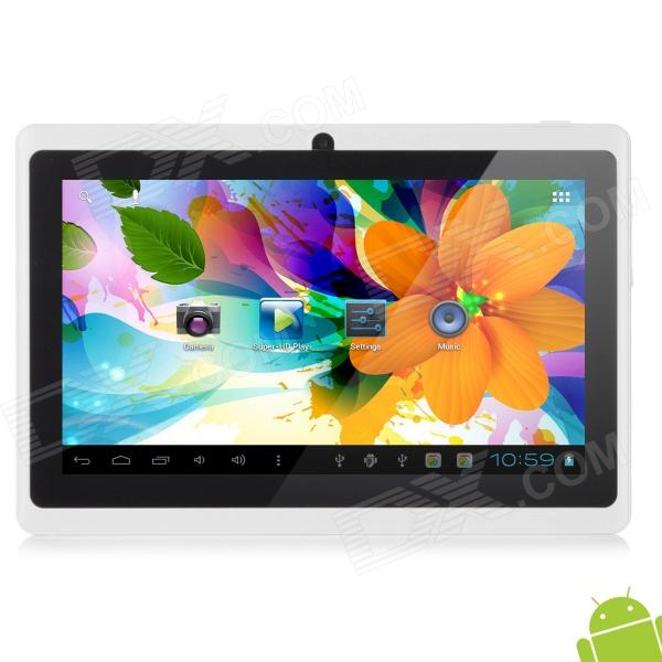 "Levy DaL Q88 7"" Android 4.1 Tablet PC w/ 512MB RAM, 8GB ROM, Dual Camera - White"