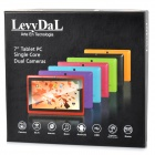 "Levy dal Q88 7"" écran tactile capacitif Android 4.1 tablette PC avec RAM 512MB, 8GB ROM - argent"
