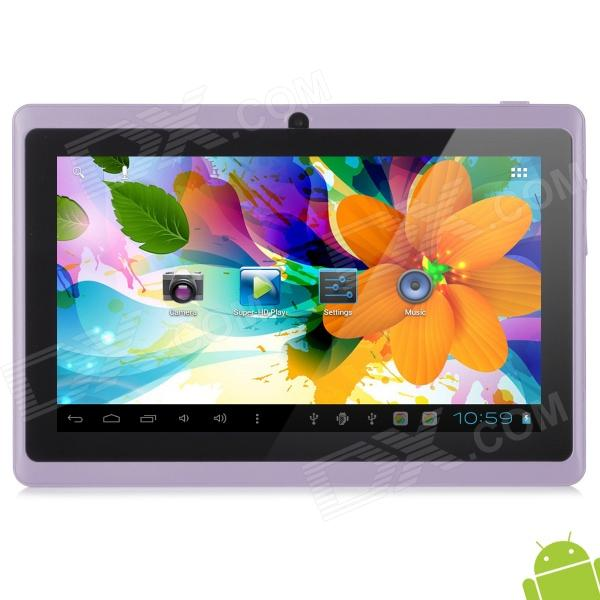 "Levy DaL  7"" Capacitive Touch Screen Android 4.1 Tablet PC w/ 512MB RAM, 8GB ROM - Light Purple"