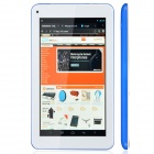 "RK3026 7"" Dual Core Android 4.2 Tablet PC w/ 512MB RAM, 4GB ROM, Wi-Fi - Blue + White"